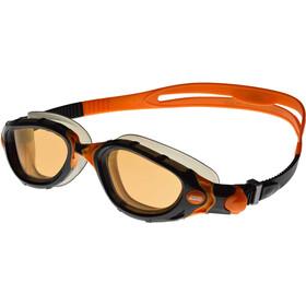 5ac64951 zoggs predator flex svømmebriller polarized plus orange svart gode tilbud  hos no